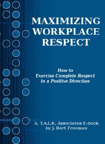 Image: Maximizing Workplace Respect E-book