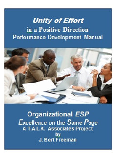 Image: Unity of Effort in a Positive Direction - Performance Development Manual